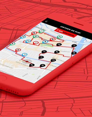 I amsterdam Maps & Routes - DTT apps