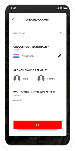 Function Create a profile! - I amsterdam Maps & Routes