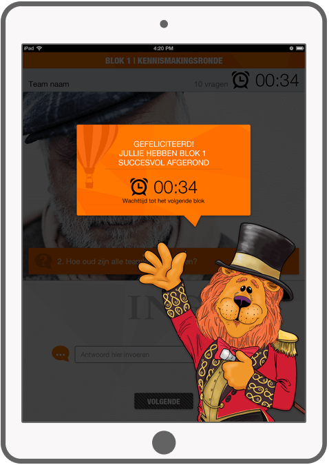 Function Well done! - ING Marketingdag app