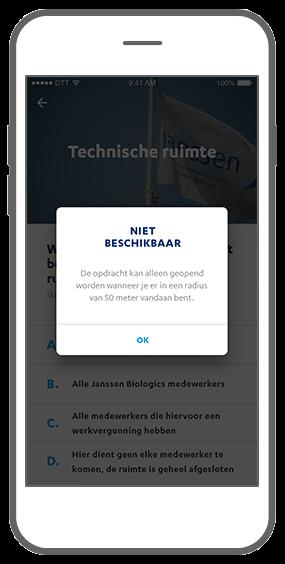 Function Radius - Janssen Biologics e-learning app