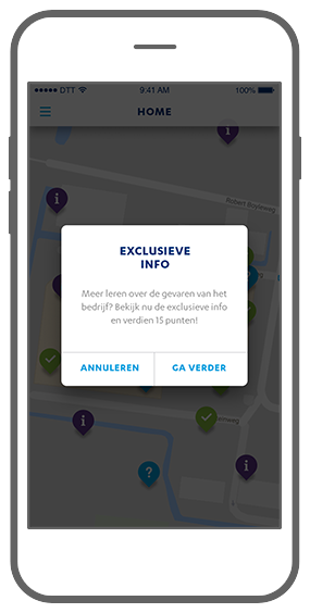 Function Exclusive info - Janssen Biologics e-learning app