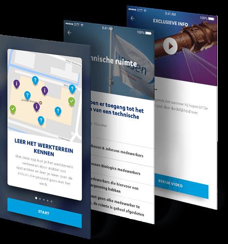 Janssen Biologics e-learning app beschrijving