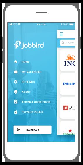 Function Navigate easily - Jobbird app