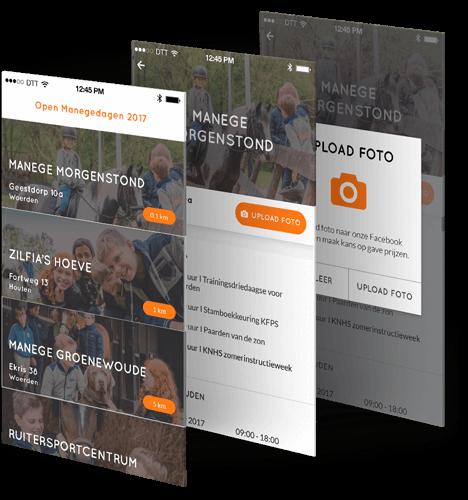 KNHS Open Manege days app beschrijving