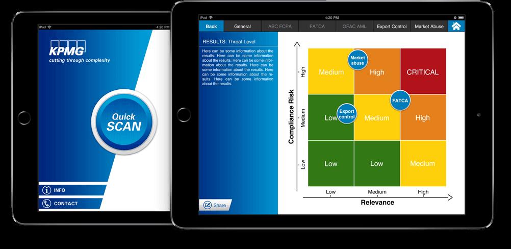 KPMG Fine app I overzicht