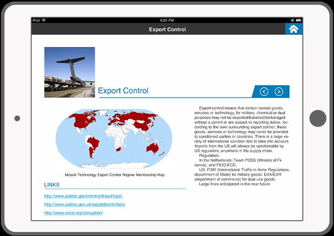 Function Risk areas - KPMG Fine app I