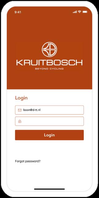 Function Login - Kruitbosch order app