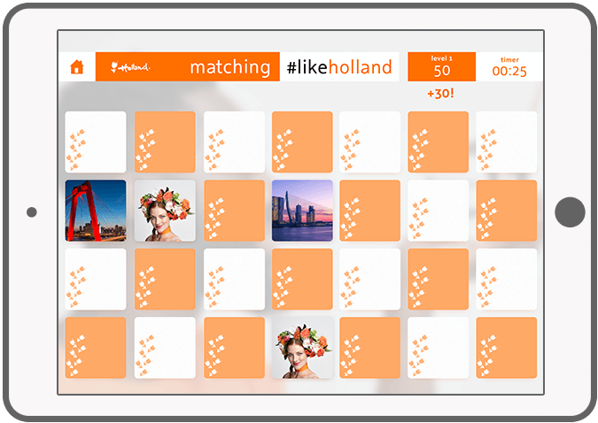 Function matching #likeholland - Holland Play en Match app