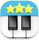 Ditto piano muziekapp icon