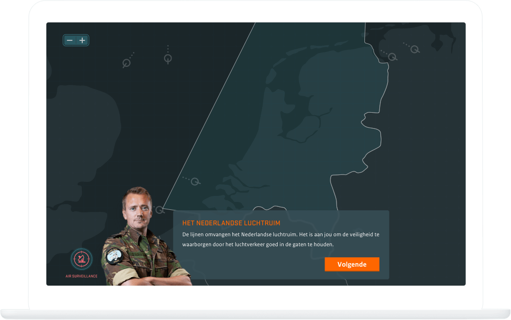 Function The Dutch air space - Air Defence serious game