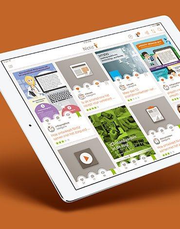 Nictiz news app - DTT apps