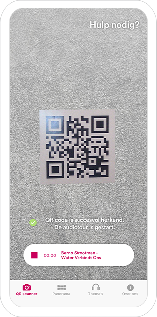 Function QR scanner - Panorama Netherlands