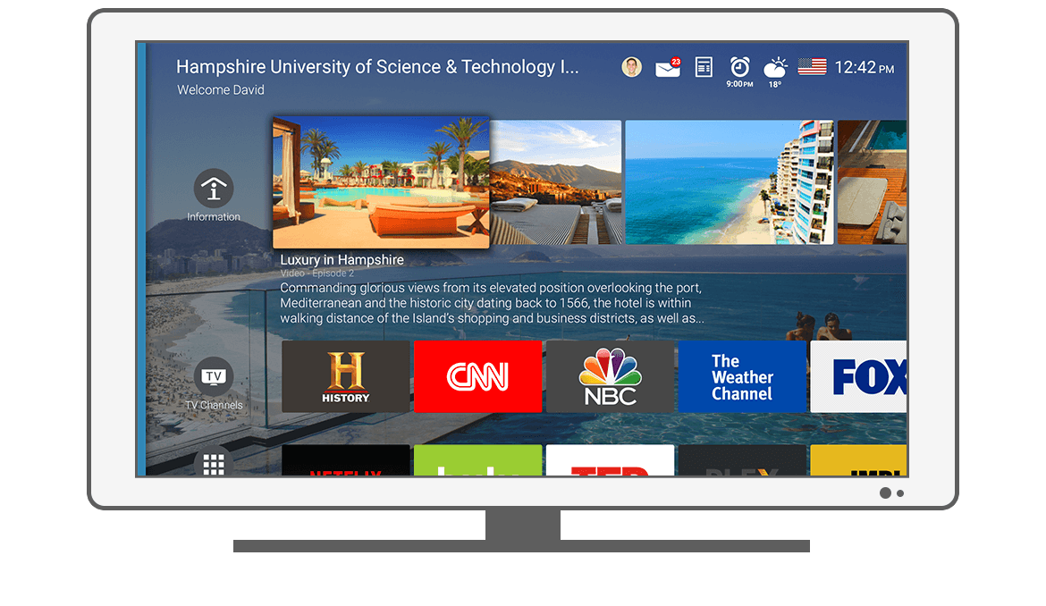 Function Home - Philips Android TV launcher app