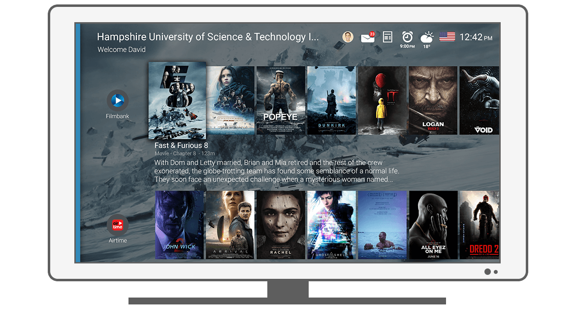Function Video on Demand - Philips Android TV launcher app