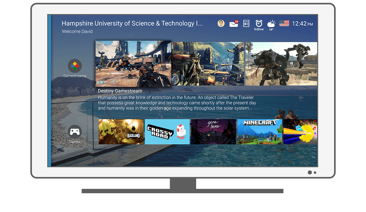 Function Games - Philips Android TV launcher app