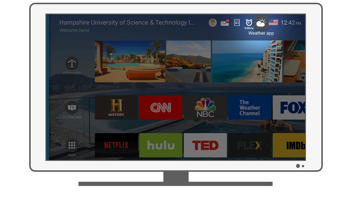 Function Weather app - Philips Android TV launcher app