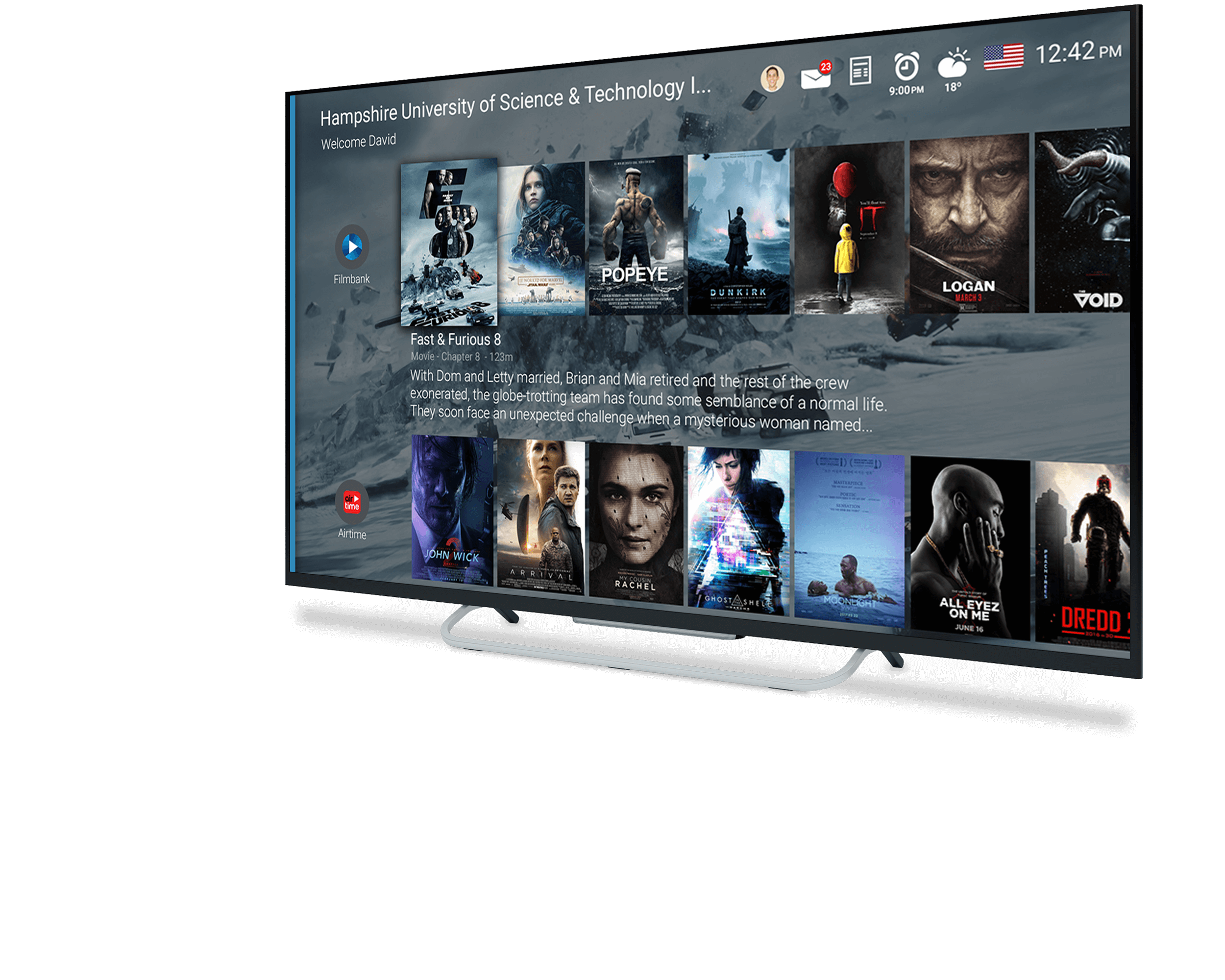 Philips Android TV launcher app beschrijving