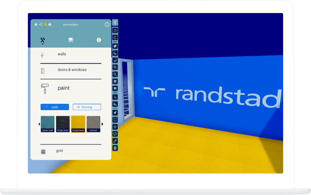 Function Wall decoration - Randstad Office Configurator