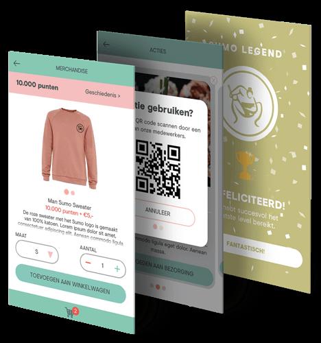 Sumo loyalty app beschrijving