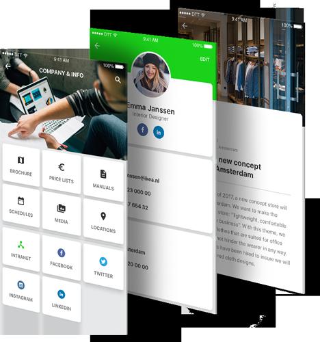 Teambook intranet app beschrijving
