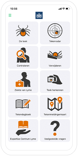 Function Home - RIVM Tick bite awareness app