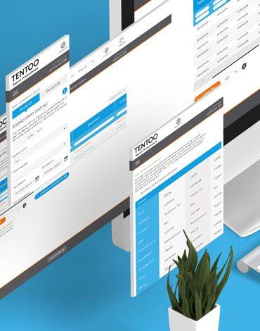 My Tentoo adaptive webdesign - DTT apps