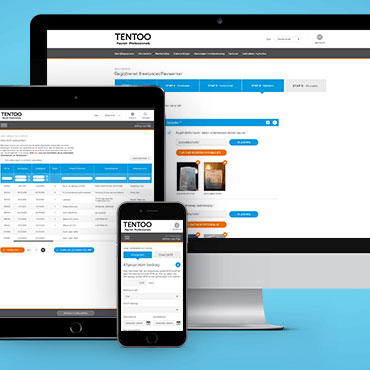 My Tentoo adaptive webdesign - DTT apps