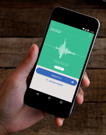 VoNo Voice Note to Mail app - DTT apps