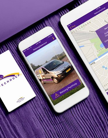 Welzorg Breakdown Assistance app - DTT apps