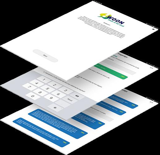 Wooninfo sustainable living app beschrijving