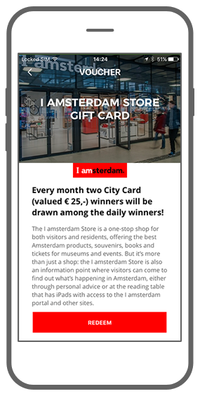 Function Vouchers - I amsterdam Maps & Routes