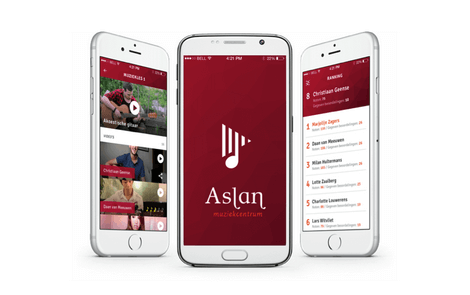 Music school app developed: Aslan