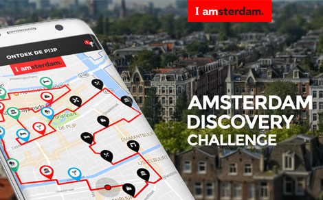 For the record: Amsterdam Discovery Challenge app is live