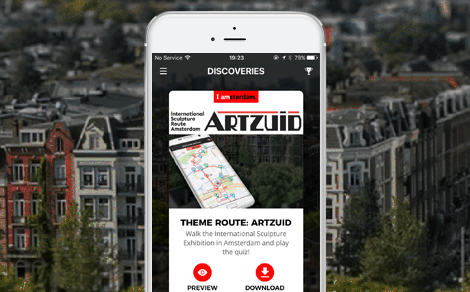 MIJLPAAL: Amsterdam Discovery Challenge app nu live