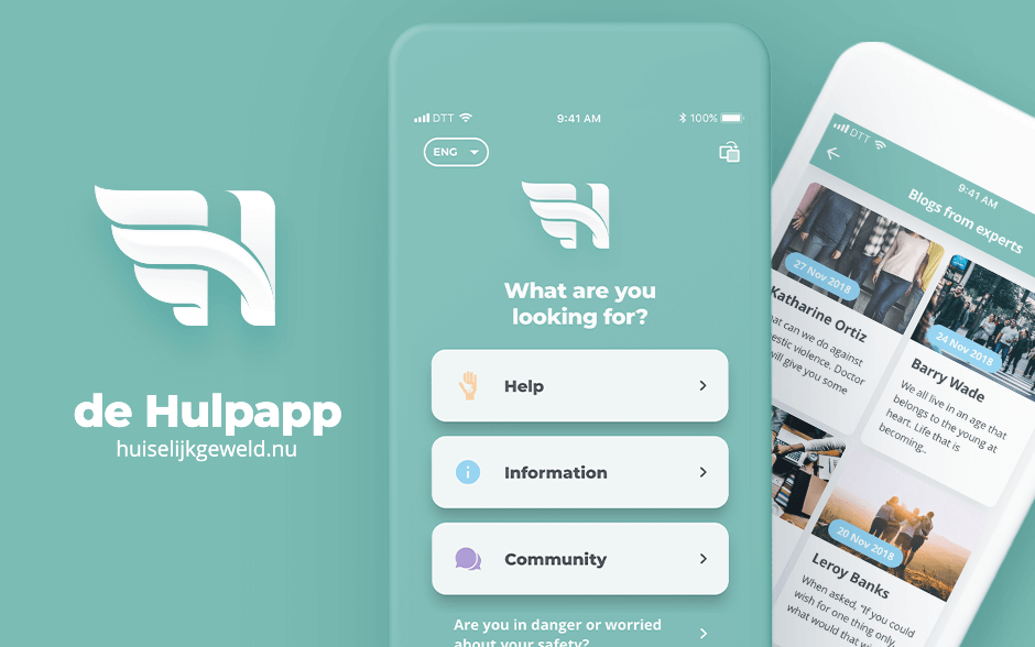 The Hulpapp expands its reach - DTT blog