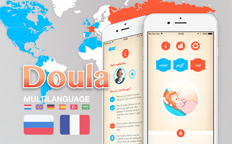 Doula goes French & Russian - DTT DTT app in Adweek
