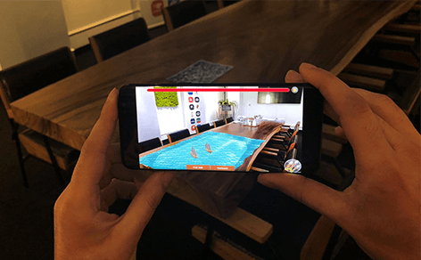 DTT in-house: AR-game in development - DTT blog