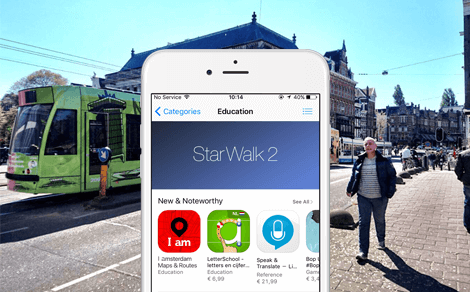 Featured in iTunes: I amsterdam Maps & Routes