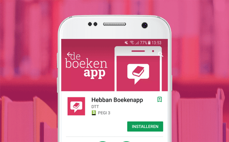 Hebban Books app is live - DTT blog