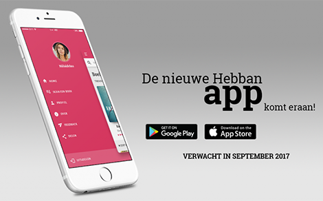 Hebban books app pre-announcement - DTT blog