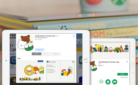 Children Books reading app (demo) now live - DTT blog