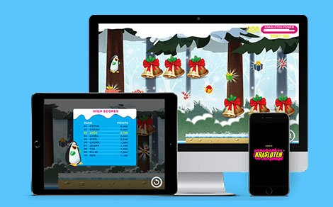 Krasloten December Calendar Game in App stores