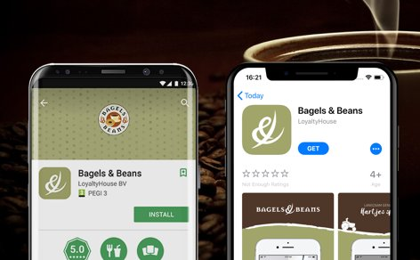 Now live: Bagels & Beans loyalty app