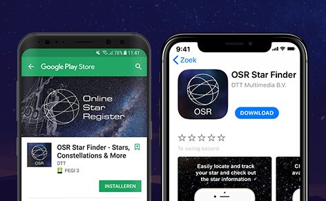 Successful launch of OSR Star Finder app!