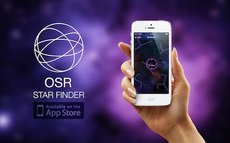Succesvolle lancering OSR Star Finder app!