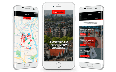 Press release: Launching Amsterdam Discovery Challenge app