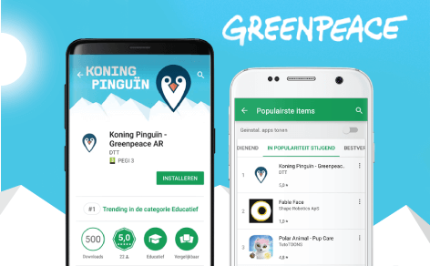 Trending in Google Play Store: King Penguin