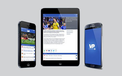 Voetbalprimeur apps live in iTunes en Google Play