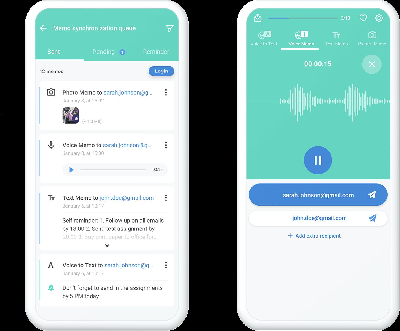 voorbeeld native app
