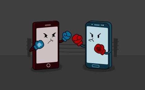 Het Verschil Tussen Android En Iphone Voor Het App Ontwikkelen Dtt